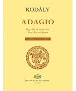 4463. Z.Kodály : Adagio for violin and piano (EMB)