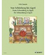 5916. F Emonts : From Schoenberg to Ligeti (Schott)