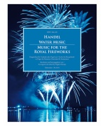 5434. G.F.Händel : Water Music / Music for the Royal Fireworks HWV 348-351, for the Harpsichord or Organ (Bärenreiter)