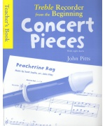4957. J.Pitts : Treble Recorder From The Beginning - Concert Pieces (Teacher's Book)  (Music Sales)