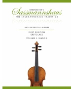 0984. K.Sassmannshaus : Violin Recital Album First Position, Volume 1 (Bärenreiter)