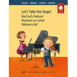 0998. Let's Take the Stage!Sheet music and CD ( EMB)