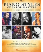 2016. M.Harrison : Piano styles of 23 POP Masters + CD (Hal Leonard)