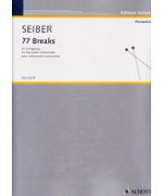 5106. M.Seiber : 77 Breaks for Percussion Instruments (Schott)