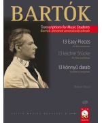 5225. B.Bartók : 13 Easy Pieces for flute and piano + CD (EMB)