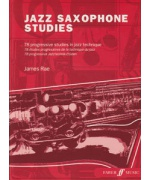 4914. J.Rae : Jazz Saxophone Studies. 78 Progressive Studies in Jazz Technique