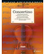 0931. Violinissimo - Concertino. The 40 most beautiful classical original pieces - Easy (Schott)