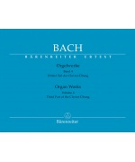 5435. J.S.Bach : Organ Works, Volume 4 Third Part of the Clavier Übung, Urtext (Bärenreiter)