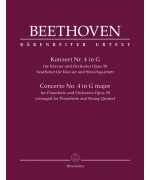 4882. L. van Beethoven : Concerto for Pianoforte and Orchestra no. 4 op. 58  Urtext (Bärenreiter)