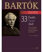4508. B.Bartók : 33 Duets for two violoncellos.