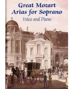 2646. W.A.Mozart : Great Mozart Arias For Soprano Voice/Piano