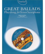 5310. Guest Spot Great Ballads Playalong for tenor saxophone includes CD