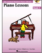 3534. Hal Leonard Student Piano Library - Piano Lessons Book 2 + CD (Hal Leonard)