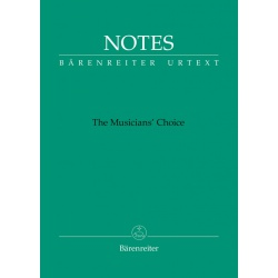 1170. The Musicians' Choice - Telemann color, green, poznámkový notes, (Bärenreiter)