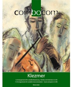 2037. Album : Klezmer : 12 Arrangements for variable instrumentation - Score and parts in C/B