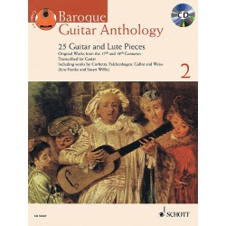 0525. Baroque Guitar Anthology 2 + CD