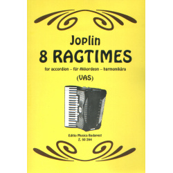 0309. S. Joplin : 8 Ragtimes for accordion