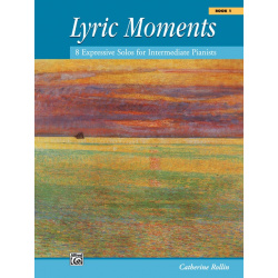 5972. C. Rollin  : Lyric moments, Book 1