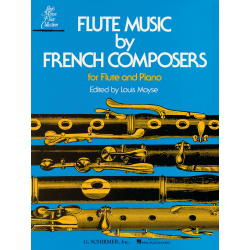 0783. Flute Music By French Composers For Flute And Piano