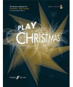 5525. R. Harris : Play Christmas +CD. 10 festive classics for trumpet and piano