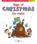 4436. M. Cohen : Bags of Christmas for violin