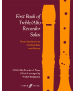 5328. W. Bergmann : First Book of Treble Solos (complete)