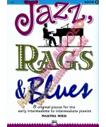 1531. M.Mier : Jazz, Rags & Blues Book 2 - 8 Original Pieces Intermediate Pianist (Alfred)
