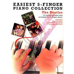 2066. Easiest 5-Finger Piano Collection - The Beatles (Wise)