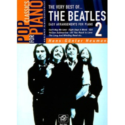 5022. H.G.Heumann : The Very Best of The Beatles, Easy Arrangements for Piano 2 (Bosworth)
