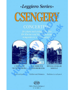 4880. D.Csengery : Concertino for Piano & String Orch., Score & Parts (EMB)