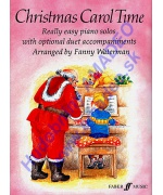 0284. F.Waterman : Christmas Carol Time, Easy Piano Solos with Duet Accompaniments (Faber)