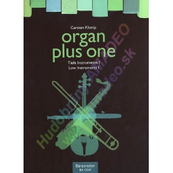 0816. C.Klomp : Organ plus one Low Instruments I. Original Works and arr. for Church Service and Concert (Bärenreiter)