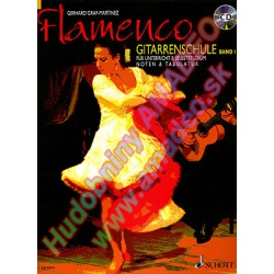2044. G.Graf-Martinez : Flamenco Gitarrenschule band 1 + CD (Schott)