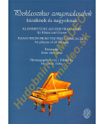 4771. Piano Pieces from the Preclassical Era for Players of All the Ages (Rózsavölgyi)