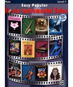 4910. Easy Popular Movie Instrumental Solos for Flute Level 1 + CD (Alfred)