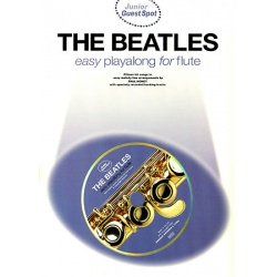 4911. Beatles : Easy Playalong for Flute, Junior Guest Spot + CD (Wise)