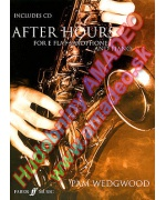 2074. P. Wegwood : After Hours for E flat Saxophone and Piano + CD