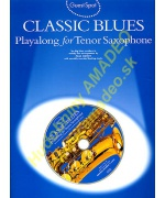 4342. P.Honey : Classical Blues Playlong for Tenor Saxophone + CD (Wise)