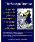 5507. J.Miller : The Baroque Trumpet in D or Standard Bb ... and Keyboard (Faber)