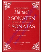 5522. F.F.Händel : 2 Sonatas for Trumpet and Piano (EMB)