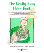 5537. Ch.Gunning : The Really Easy Horn Book in F with Piano Accompaniment (Faber)