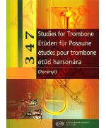 4303. P.Perényi : 347 Studies for Trombone (EMB)