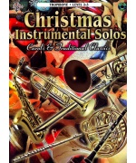 5518. Christmas Instrumental Solos, (trombone) Level 2-3 + CD (Warner Bros)