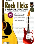 5029. T.Cataldo : Rock Licks Encyclopedia 300 Licks... + CD (Alfred)