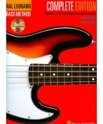 5036. E.Friedland : Hal Leonard Bass Method Book 1-3, Complete Edition + 2 CD