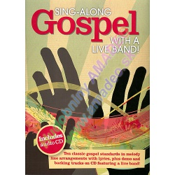 0636. Gospel with Live Band ! Sing-Along + CD  Demo & Backing (Wise)