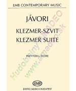 3425. F.Jávori : Klezmer Suite,for klezmer ensemble and string orchestra,score (EMB)