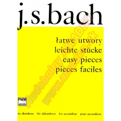 0377. J.S.Bach : Easy Pieces for Accordion (PWM)
