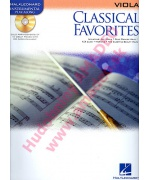 4554. Classical Favorites - Viola - Solo arrangement + CD (Hal Leonard)