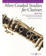 1386. P. Harris : More Graded Studies for Clarinet Book 2